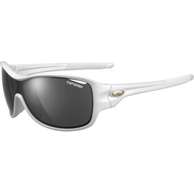 Tifosi Rumor Glasses pearl white - smoke/AC red/clear